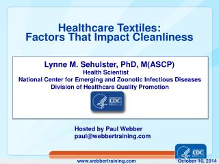 Healthcare Textiles: Factors That Impact Cleanliness