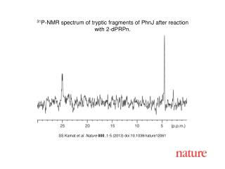 SS Kamat  et al. Nature  000 , 1-5 (2013) doi:10.1038/nature12061