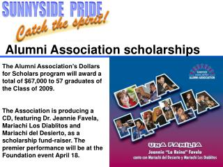 Alumni Association scholarships