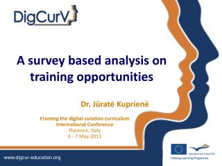 A survey based analysis on training opportunities