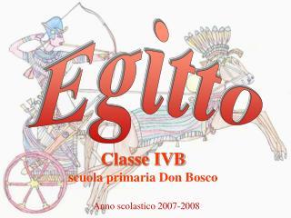 Classe IVB scuola primaria Don Bosco