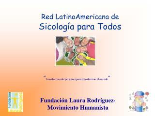 Red LatinoAmericana de Sicología para Todos