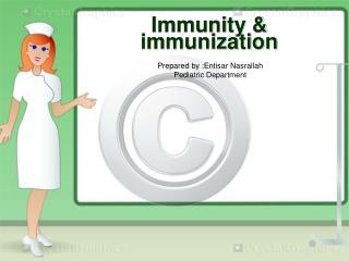 Immunity & immunization
