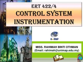 ERT 422/4 Control system instrumentation