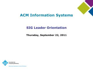 ACM Information Systems