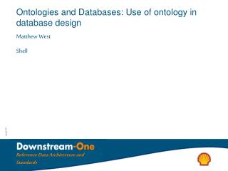 Ontologies and Databases: Use of ontology in database design
