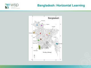 Bangladesh: Horizontal Learning
