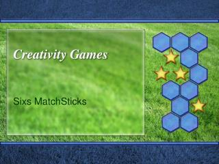 Creativity Games