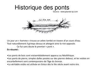 Historique des ponts
