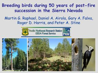 Breeding birds during 50 years of post-fire  s uccession in the Sierra Nevada