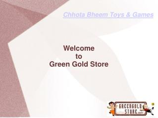 Official Online Store Of Chhota Bheem Toys and Games