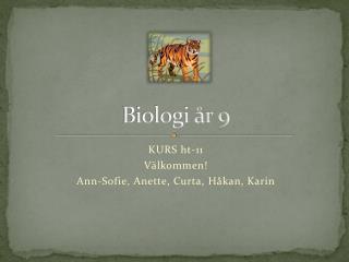 Biologi år 9