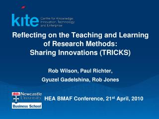 HEA BMAF Conference, 21 st  April, 2010
