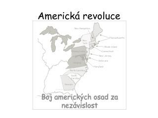 Americk� revoluce
