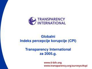 ti-bih transparency/surveys/#cpi