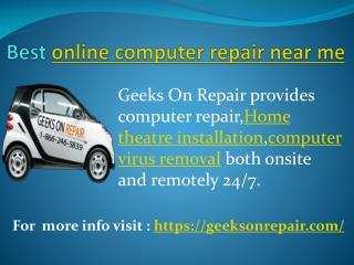 Best online computer repair near me
