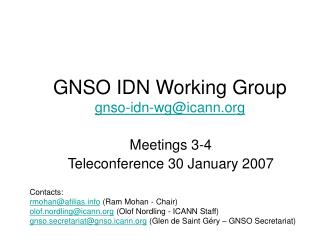 GNSO IDN Working Group gnso-idn-wg@icann