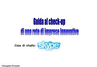 Guida al check-up  di una rete di imprese innovative