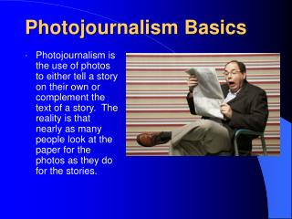 Photojournalism Basics