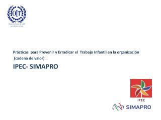 IPEC- SIMAPRO