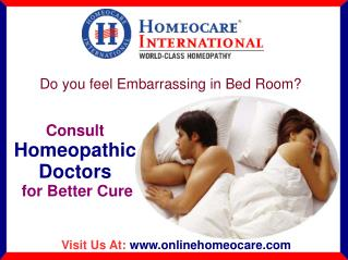 Homeopathy treatment for Sexual arousal Disorders