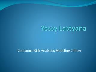 Yessy Lastyana