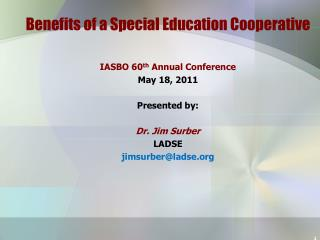 Benefits of a Special Education Cooperative