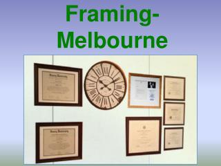 Certificate Framing-Melbourne Specialists
