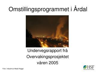 Omstillingsprogrammet i Årdal