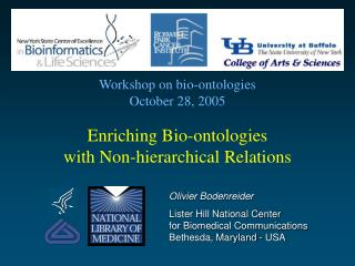 Enriching Bio-ontologies with Non-hierarchical Relations
