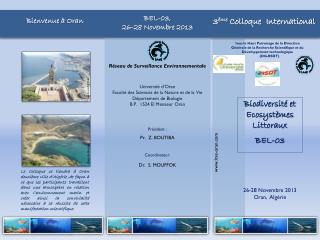 Réseau de Surveillance Environnementale Université d'Oran