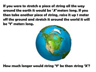 string problem