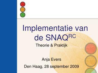 Implementatie van de SNAQRC