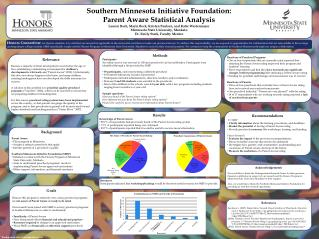 Southern Minnesota Initiative Foundation: Parent Aware Statistical Analysis