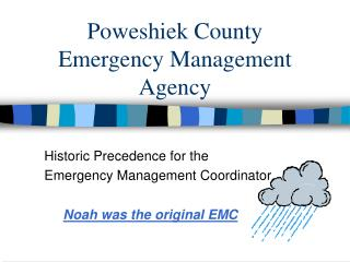 Poweshiek County  Emergency Management Agency