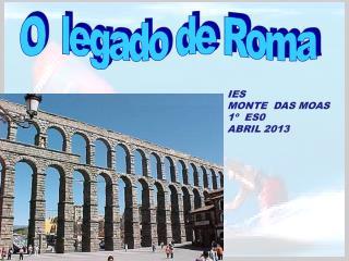 O  legado de Roma