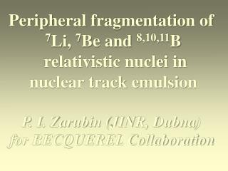 Peripheral fragmentation of  7 Li,  7 Be and  8,10,11 B  relativistic nuclei in