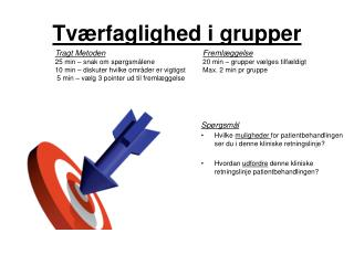 Tv�rfaglighed i grupper