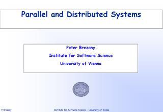 Parallel and Distributed Systems
