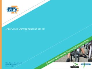 Instructie Opwegnaarschool.nl