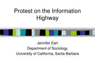 Protest on the Information Highway