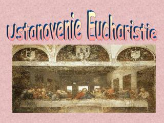Ustanovenie Eucharistie