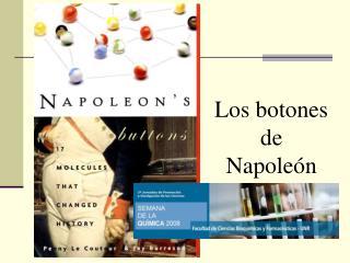 Los botones de Napole n