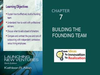 BUILDING THE FOUNDING TEAM