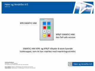 KP8 SIMATIC HMI