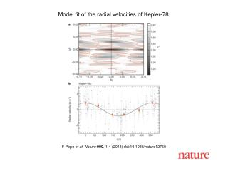 F Pepe  et al. Nature  000 , 1-4 (2013) doi:10.1038/nature12768
