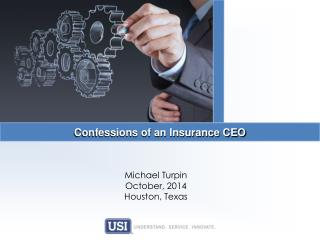 Confessions of an Insurance CEO