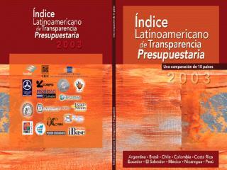 �ndice Latinoamericano de Transparencia Presupuestaria