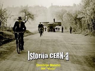 Istorija CERN-a
