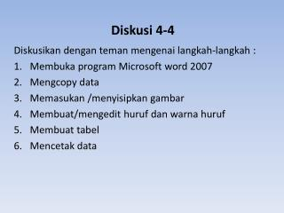 Diskusi 4-4